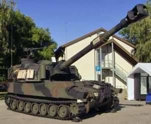 155 мм САУ М-109A6